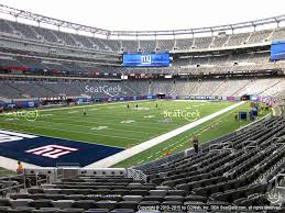 Giants Stadium Football Seating Chart Credible Meadowlands Stadium Seating Chart Metlife Stadium