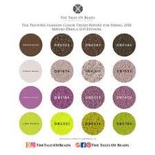 21 Best Miyuki Delica 11 Color Palettes Images Pantone