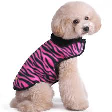 picture of kuoser cute furry fleece lining dog vest winter coat warm dog apparel for cold