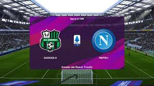PES 2020 | Sassuolo vs Napoli - Italy Serie A | 22 December 2019