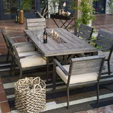 wilson fisher stone ridge high gas fire pit patio table patio designs good stuff associated with any place of residence