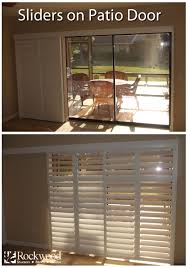 Sliding Shutters are great for sliding glass patio doors. Rockwood ...