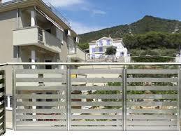 Barandilla De Aluminio  Con Barrotes  De Exterior  Para Barandillas De Aluminio Para Exterior