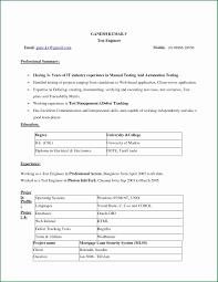 Cv Format In Word Vending Machine Repair Sample Resume Ic Layout