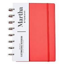 junior size amazon com martha stewart discbound customizable notebook junior