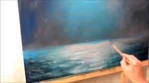 oil painting moonlight night part 1