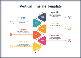 Example Of Timeline Chart Free Printable Vertical Timeline Template Templateral