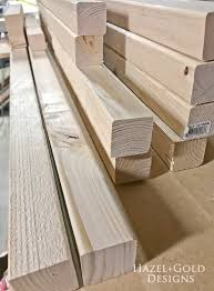 diy freestanding towel rack wood cut to diffe lengths