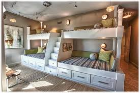 cool bunk beds built into wall. Bunk Beds Built Into Wall : Custom DIY To Cool O