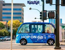 driverless shuttle in las vegas gets in fender bender within an hour