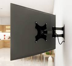 decoration adjule tv mount elegant chief kpg110b height dual arm pole one monitor throughout 19