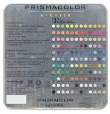 Prismacolor Colored Pencils 132 Pencil Set Prismacolor