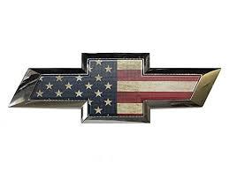 chevy logo with american flag. Plain American Amazoncom 20142017 Chevrolet Silverado American Flag Tailgate Bowtie  Automotive Throughout Chevy Logo With U