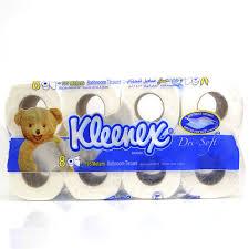 bathroom tissue. Kleenex Bathroom Tissue Dri-Soft 122 X 106mm 8pcs
