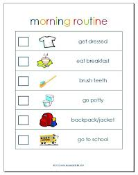 Free Morning Routine Download Free Clip Art Free Clip Art