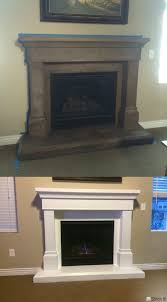painting a cast stone fireplace surround with kilz primer and