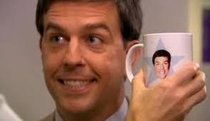 the office star mug. the office tv news: could andy bernard be michael scott\u0027s replacement? star mug e