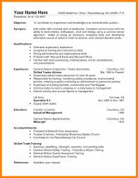 Sample Resume For Warehouse Operations Manager New Resume Forrehouse