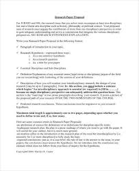 Project Proposal Format Cool 48 Research Project Proposal Outline Templates PDF Free