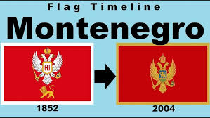 Languages of montenegro are languages that are spoken in montenegro. Flag Of Montenegro Historical Evolution With The National Anthem Of Montenegro Youtube