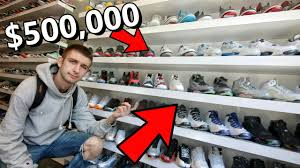 INSANE SNEAKER CONSIGNMENT SHOP ALL OF MY FAVORITE SNEAKERS.