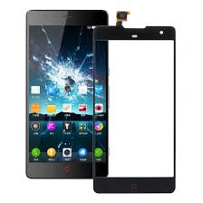 For ZTE Nubia Z7 Max Touch Panel(Black)