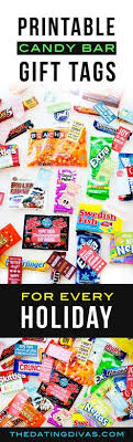 cute candy bar gift s for every holiday this is so fun they have