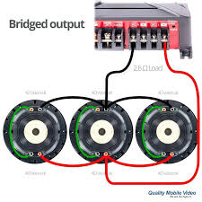 dual voice coil subwoofer wiring diagram diagrams sonic knowledge dual