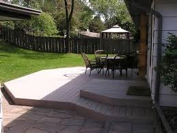 Best Deck Vs Patio Images On Pinterest Outdoor Ideas