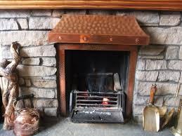 copper fireplace canopy hood