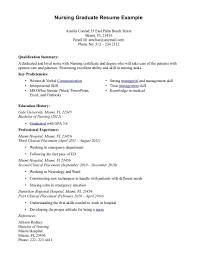 Excellent Sample Resume Newly Graduated Nurse Philippines Images