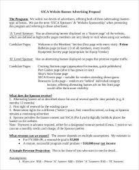 Advertising Proposal Letter Acepeople Co