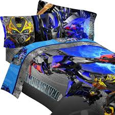 transformers motorized twin bed comforter kids bedding sets com view larger
