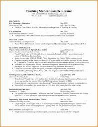 Teacher Resume Objectives 7 Elementary Education Resume Objective Penn Working Papers