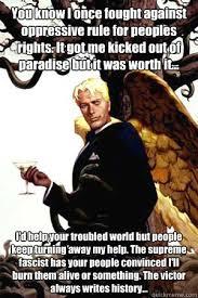 Good Guy Lucifer memes | quickmeme via Relatably.com