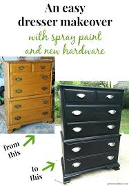 laminate furniture makeover. How To Stain Laminate Furniture A Dresser Makeover With Spray Paint Painting P