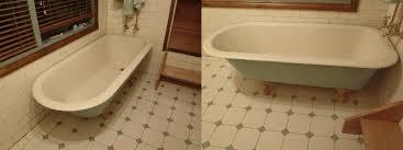 resurface bathroom. resurfaced claw foot bath resurface bathroom t