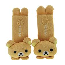 strap belt covers bxt image bao core bxt one pair cartoon plush padded