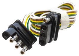 4 wire flat connector facbooik com 7 Way Flat Wiring Diagram 60\\\