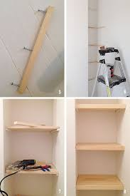 How To Build Floating Shelves In An Alcove Magnificent How To DIY Floating Shelves For The Alcove Above The Toilet Home