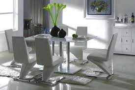 full size of bathroom gorgeous white glass dining table set 9 oval tables enchanting modern and