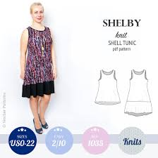Tunic Top Patterns Cool Shelby Relaxed Cut Longline Knit Shell Tunic And Dress Sinclair