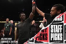 UFC Vegas 34: Cannonier vs. Gastelum ...