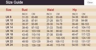Size Charts Www 19black Co Nz