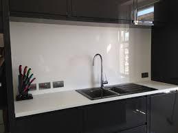 Splashback White Kitchen White High Gloss Acrylic Kitchen Splashback Cut To Size