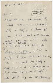 kenneth spencer research library blog happy birthday charles image of the first page of a letter charles darwin to james e todd