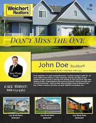 Sameday Rush Printing Real Estate Flyer Sell Sales Sheet Manhattan