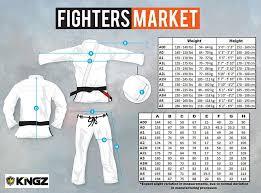 Kingz Nano Gi Lightweight Competition Gi Fighters Market