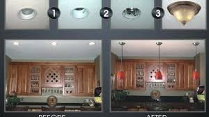 recessed lighting to pendant. Glamorous 5 Minute Light Upgrade Converting A Recessed To Pendant Regarding Convert Prepare Lighting I