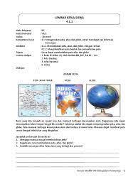 Rpp dengan format 1 halaman atau 1 lembar merupakan rpp versi revisi terbaru yang mulai di gunakan di tahun 2020 hingga saat ini. Lks Ips Vii 2